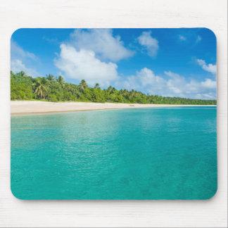 Tapis De Souris Plage rayée par palmier, Tonga