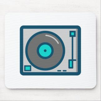 Tapis De Souris Plaque tournante du DJ