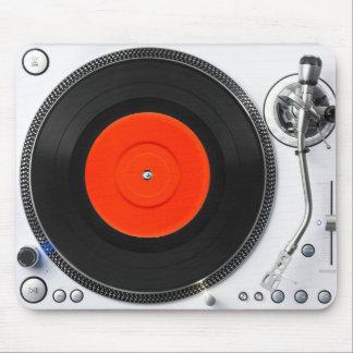 Tapis De Souris Plaque tournante Mousepad du DJ