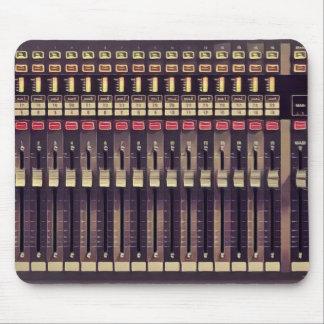 Tapis De Souris Plate-forme d'audio de studio d'enregistrement