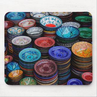 Tapis De Souris Plats marocains au marché