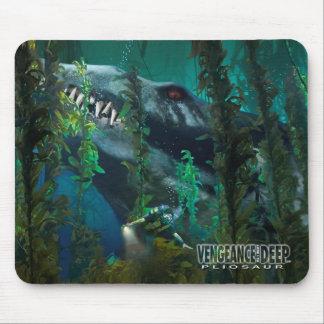 Tapis De Souris Pliosaur Mousepad 3 - vengeance du profond