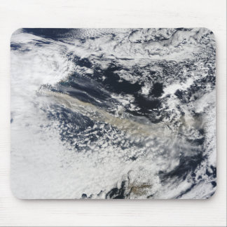 Tapis De Souris Plume de cendre de volcan d'Eyjafjallajokull