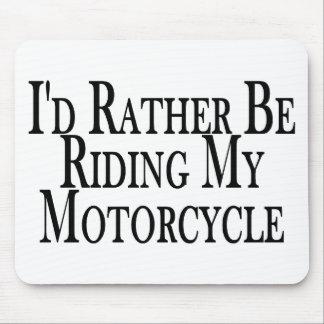 Tapis De Souris Plutôt monte ma moto