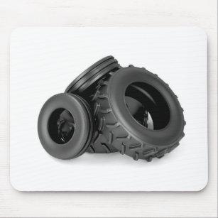 tapis de souris roue tracteur. Black Bedroom Furniture Sets. Home Design Ideas