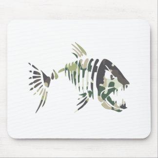 Tapis De Souris Poissons fâchés de camouflage, pour le pêcheur
