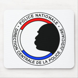 Tapis De Souris Police Française