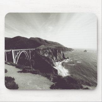 Tapis De Souris Pont de Bixby, grand Sur, la Californie Etats-Unis