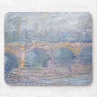Tapis De Souris Pont de Claude Monet | Waterloo, Londres, au