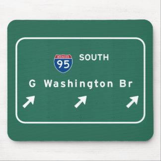 Tapis De Souris Pont de George Washington NYC New York City NY