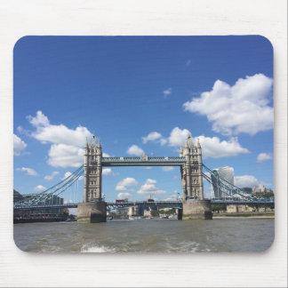 Tapis De Souris Pont la Tamise Londres Royaume-Uni R-U de tour