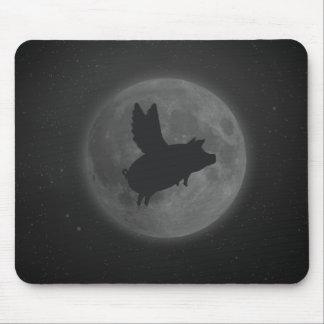 Tapis De Souris porc nocturne de vol