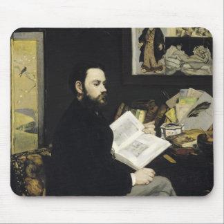 Tapis De Souris Portrait de Manet | d'Emile Zola 1868