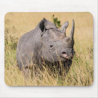 Tapis De Souris Portrait de rhinocéros noir