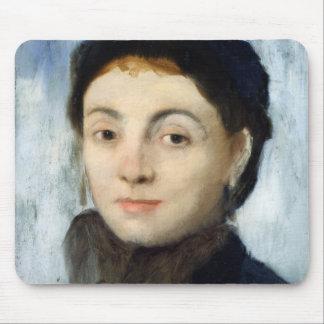 Tapis De Souris Portrait d'Edgar Degas | de Josephine Gaujelin,