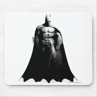 Tapis De Souris Pose large noire et blanche de la ville   Batman