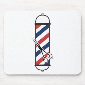 Tapis De Souris poteau de coiffeur