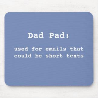 Tapis de souris pour le papa