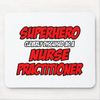 Tapis De Souris Praticienne d'infirmière de super héros…