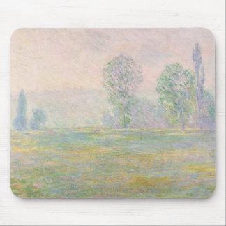 Tapis De Souris Prés de Claude Monet | en Giverny, 1888