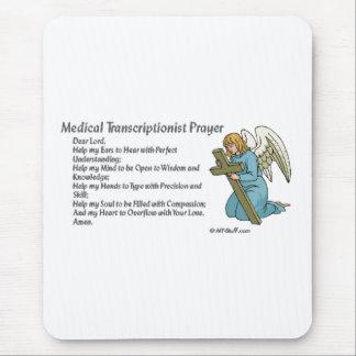 Tapis De Souris Prière médicale de transcription