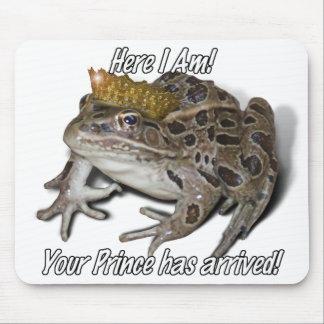 "Tapis De Souris Prince de grenouille - ""ici je suis """