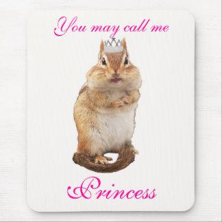 Tapis De Souris Princesse Chipmunk