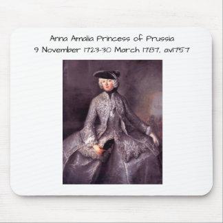 Tapis De Souris Princesse d'Anna Amalia de la Prusse av1757