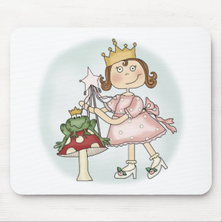 Tapis De Souris Princesse de grenouille