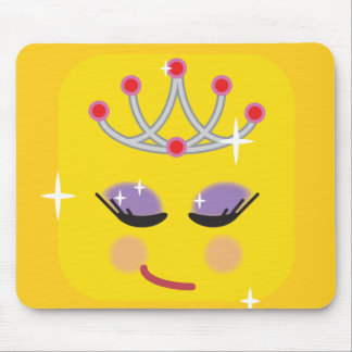 Tapis De Souris Princesse scintillante Emoji