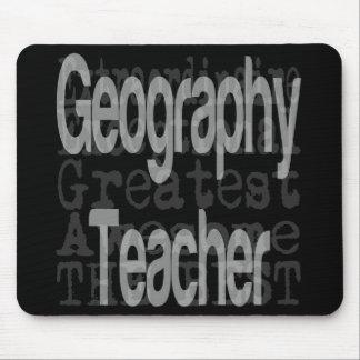 Tapis De Souris Professeur de géographie Extraordinaire