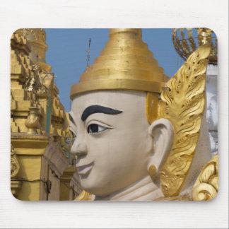 Tapis De Souris Profil de statue de Bouddha