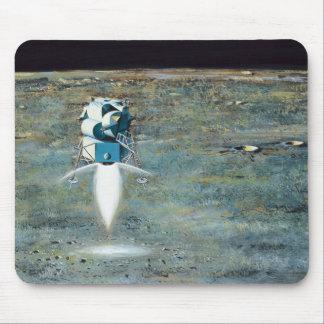 Tapis De Souris Programme Apollo - concept d'artiste de mission de
