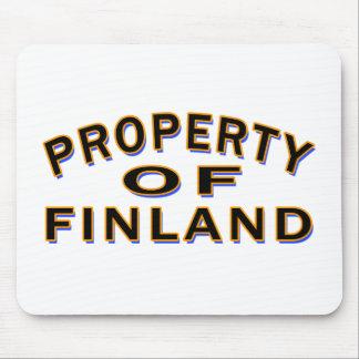 Tapis De Souris Propriété de la Finlande