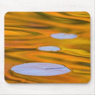 Tapis De Souris Protection de lis sur l'eau orange, Canada