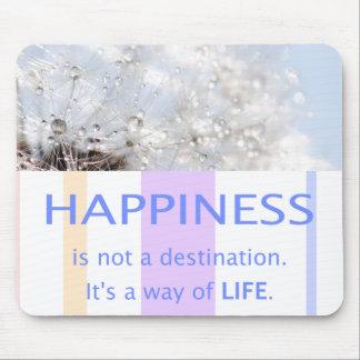 Tapis De Souris Proverbe belles maximes de chance Happiness