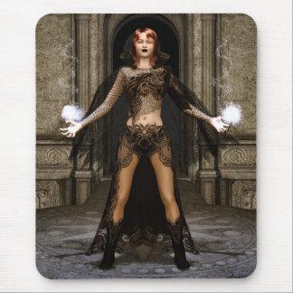 Tapis De Souris Puissance d'art gothique d'imaginaire