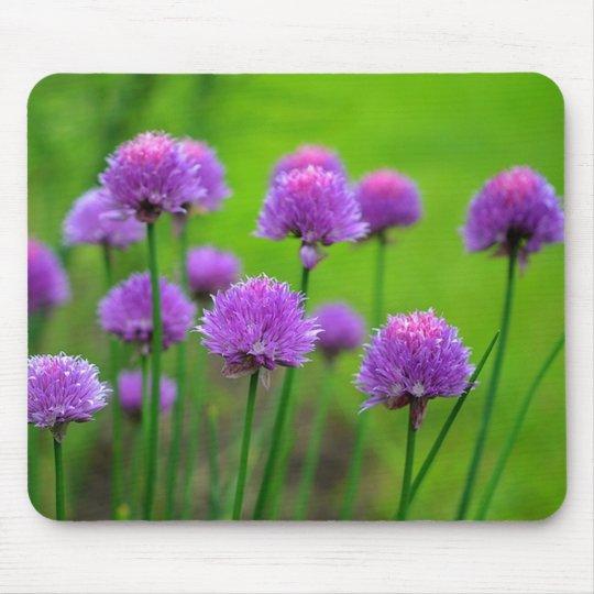 TAPIS DE SOURIS PURPLE FLOWERS