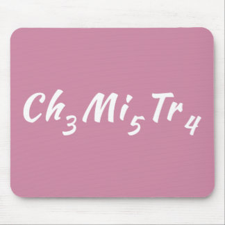 Tapis De Souris Puzzle Mousepad de chimie