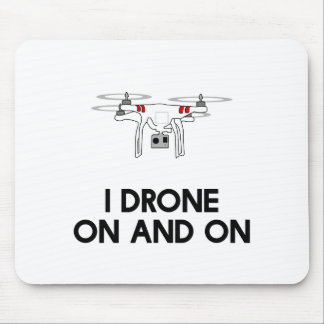 Tapis De Souris Quadcopter du bourdon I indéfiniment