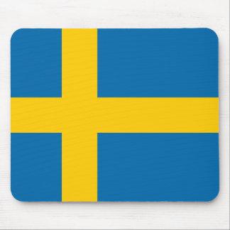 Tapis De Souris Qualité de drapeau de la Suède