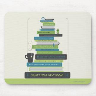 Tapis De Souris Quel est votre prochain livre ?