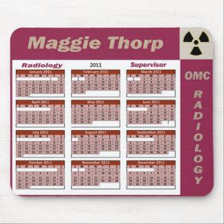 Tapis De Souris Radiologie Mousepad superbe de Maggie Thorp