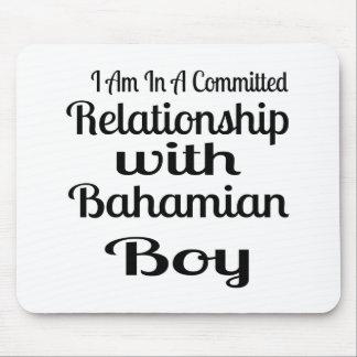 Tapis De Souris Rapport avec le garçon bahamien