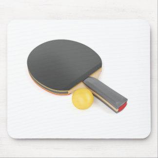 Tapis De Souris Raquette et boule de ping-pong