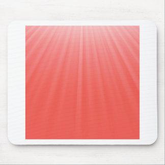 Tapis De Souris rayons rouges