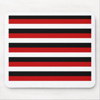 Tapis De Souris Rayures de drapeau du Trinidad-et-Tobago Yémen