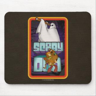 Tapis De Souris Recherche de fantôme de Scooby-Doo | hirsute et