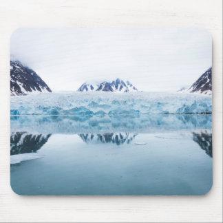 Tapis De Souris Réflexions de glacier, Norvège