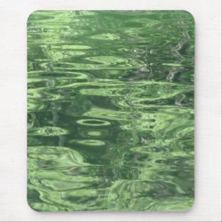 Tapis De Souris Réflexions d'étang en vert